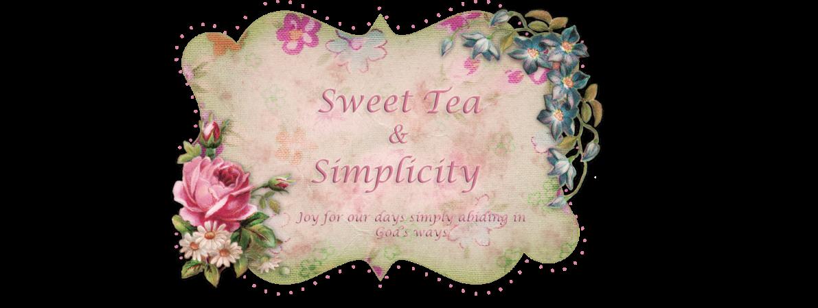 Sweet Tea and Simplicity